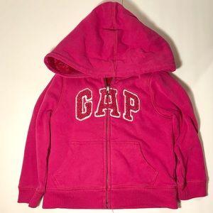 Gap logo Pink Hooded Sweater